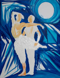 Swan Lake Acrylic2 by mr-macd
