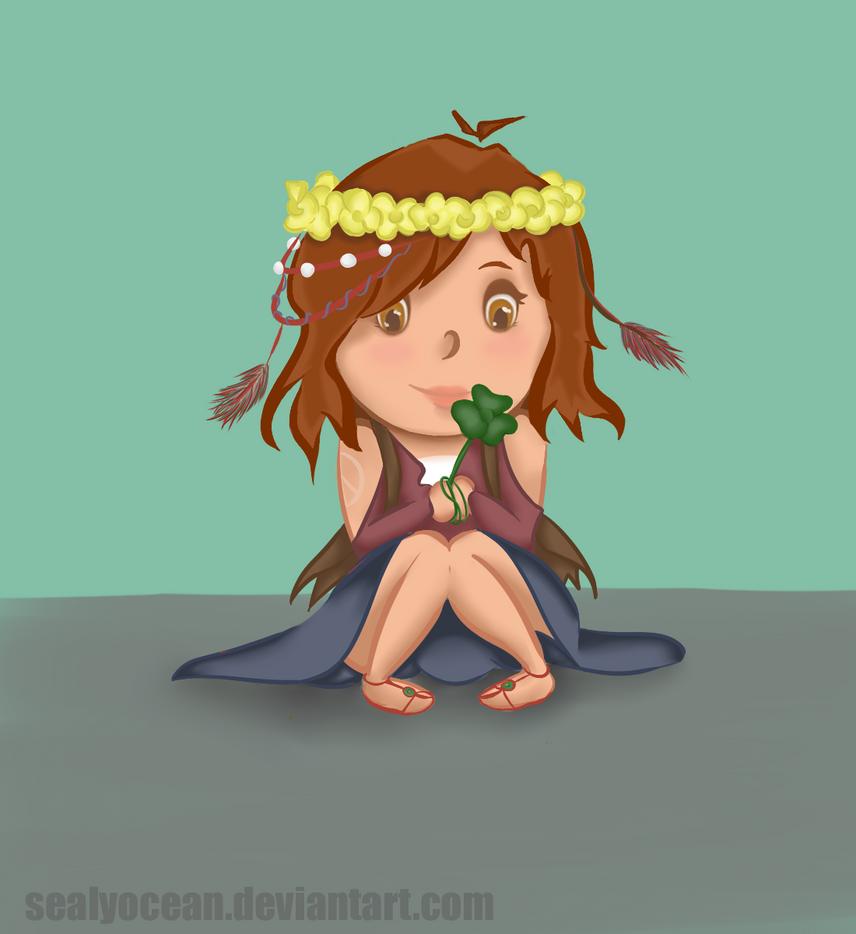 Little hippie by SealyOcean