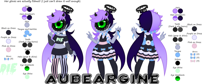 Finished Full Ref by AUBEARGINE