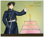 Roy Mustang - Birthday Card