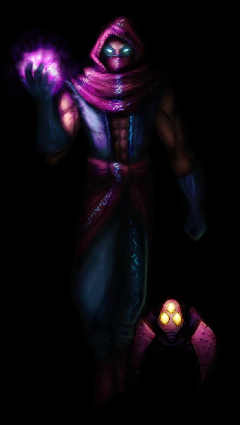 Malzahar - League of Legends by Kaadan