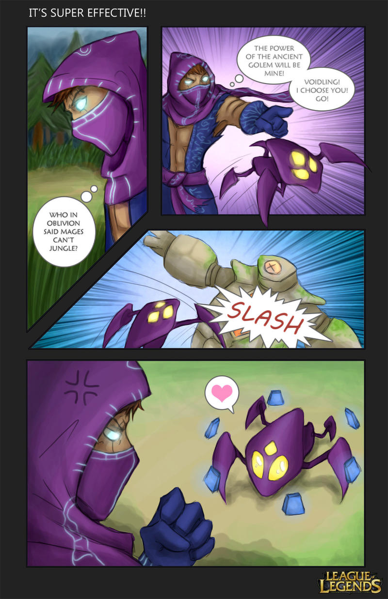 LoL Comic Entry - It's Super Effective by Kaadan