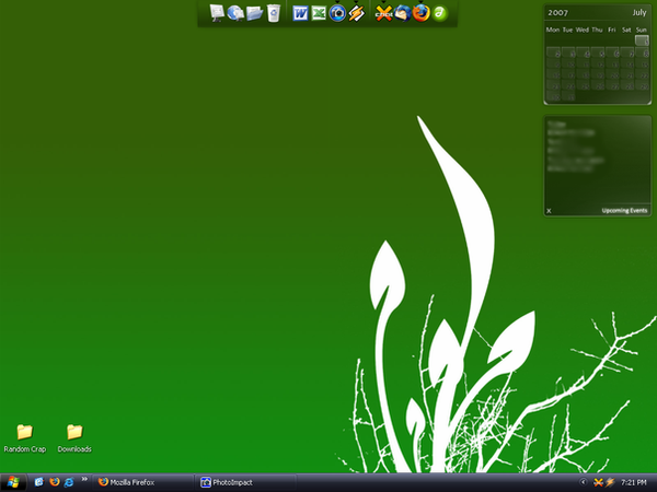 Desktop Screenshot - July 07 by p858snake