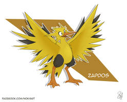 Zapdos by Noky-Art