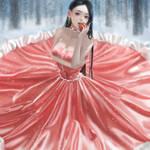 snow white princess by IMayl