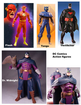 DC Direct actionfigures by Barsom