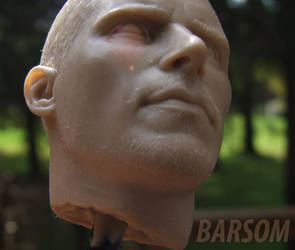 Christian Bale T4 bust 4 by BaRs0m