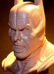 Christian Bale Dark knight mare bust 2 by BaRs0m