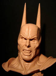 Christian Bale Dark knight mare bust 3 by BaRs0m