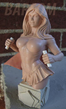 Supergirl wax prototype.