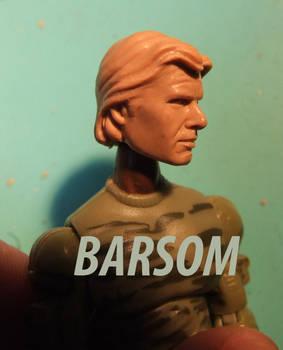 Han Solo test head.