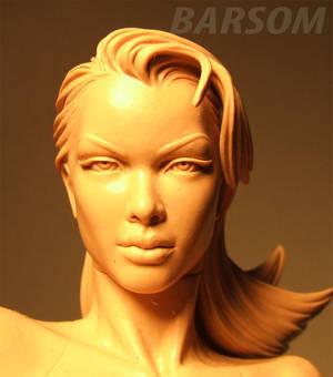 Psylocke xman detail head.