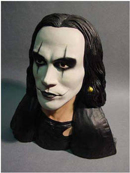 Brandon Lee 1/4th scale Crow bust. 1994