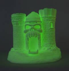 Fantasy Skull Castle. GLOWS IN THE DARK Ltd. 2012