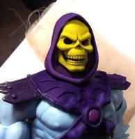 Skeletor head 2.0 smaller