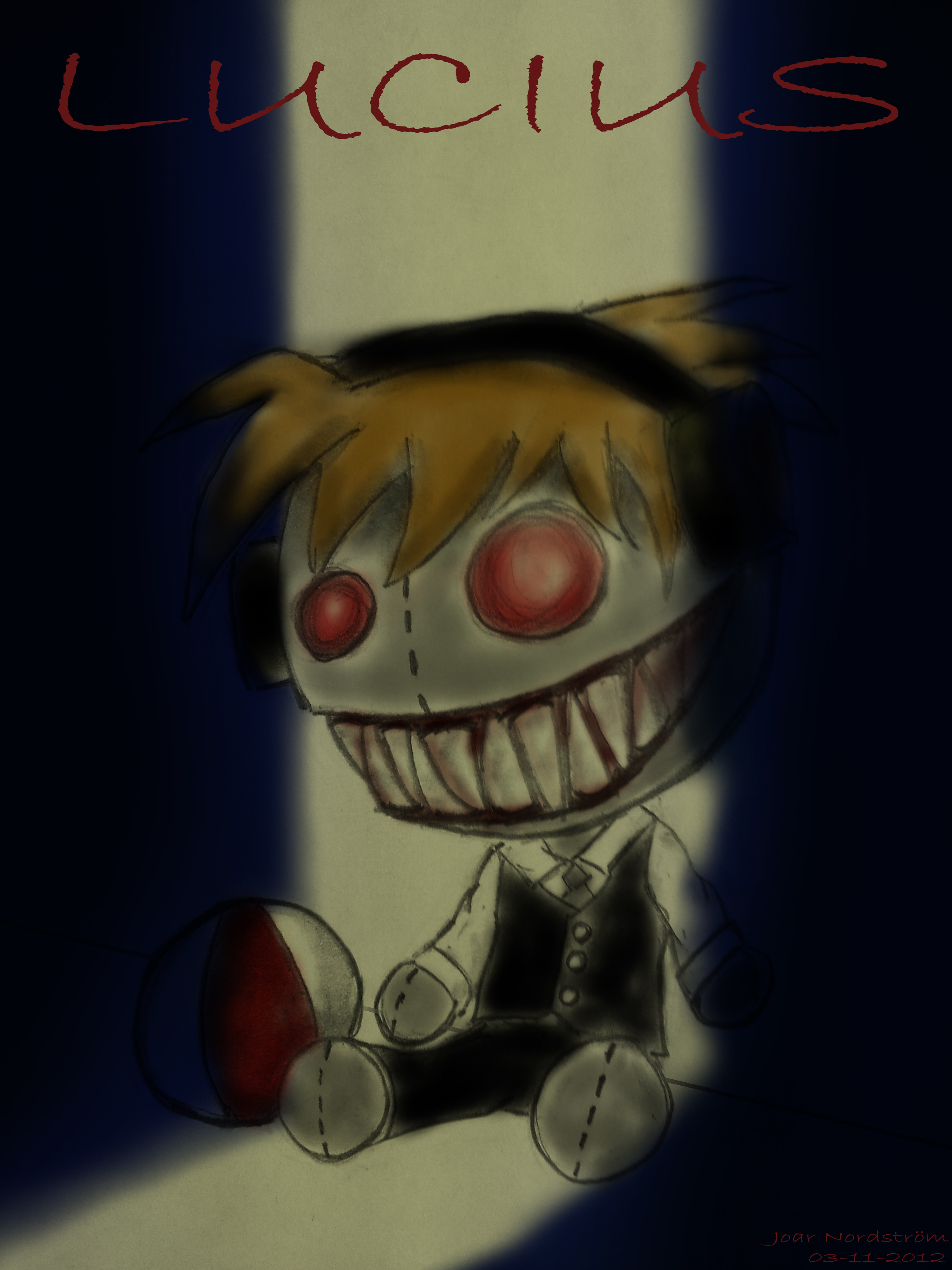 A little PewDiePie-doll... by joar9410