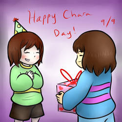 Happy Chara Day! by ShakeablePanda