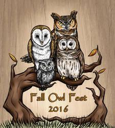 Fall Owl Fest 2016 Logo