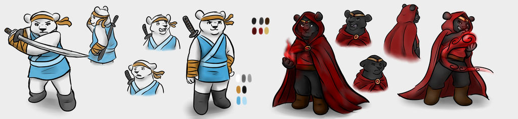 Bearly Brothers Concept Art