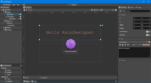 WYSIWYG/Visual editor for Rainmeter - RainDesigner