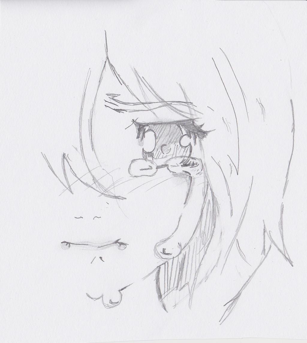 Sad Anime Girl By Elveistmage On Deviantart