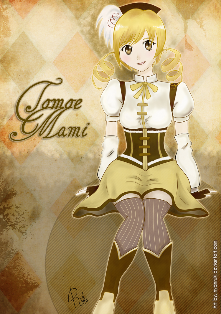 Tomoe Mami. by NyanRuki