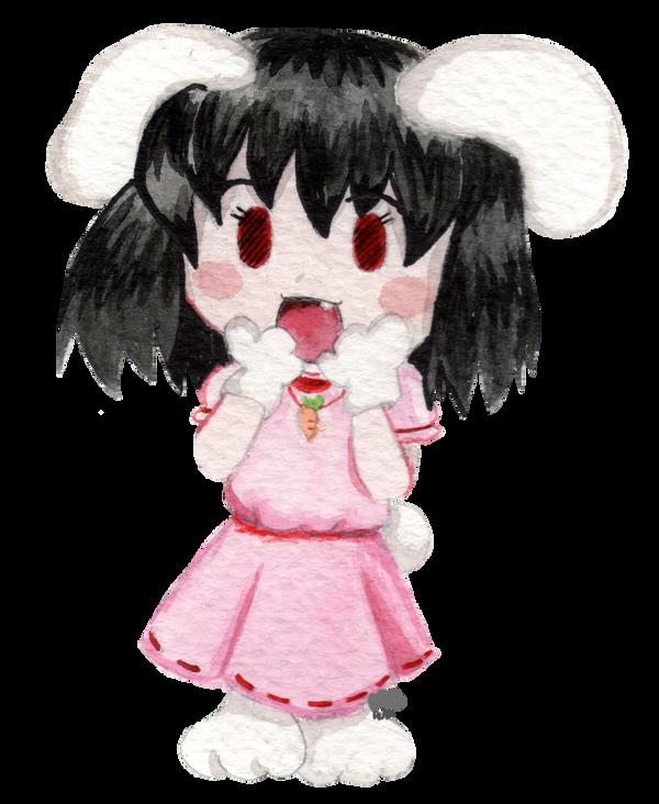 Tewi Inaba Chibi by NyanRuki