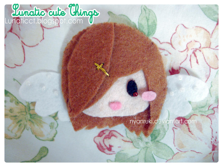 Commission: Munryeo Flele Shell  OC Brooch by NyanRuki