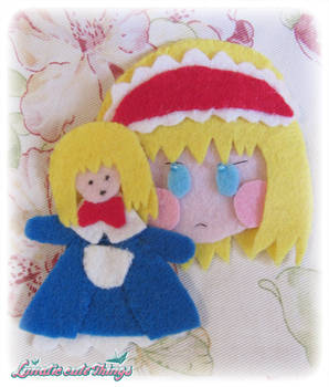 Alice Margatroid Brooch new version