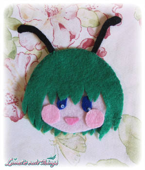Wriggle - Touhou Project brooch