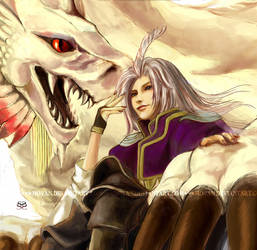 The Dragon Rider by moyan