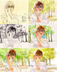 Secret Admirer by moyan