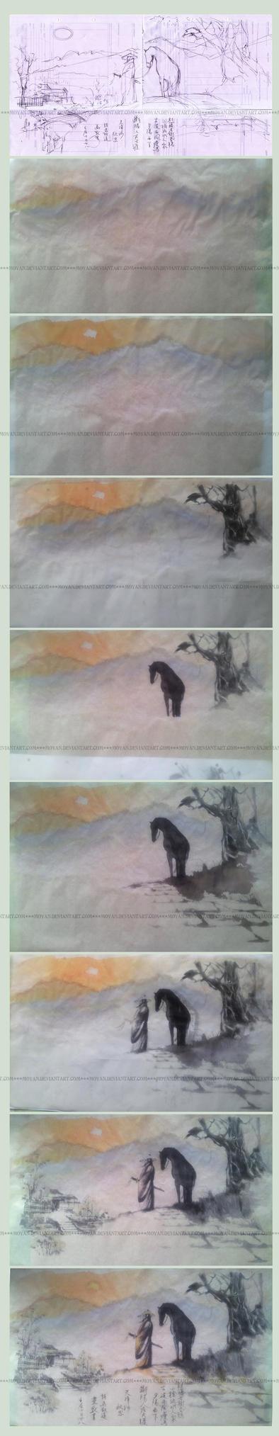 Wanderer - work in progress by moyan