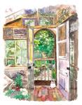Dream House in Ghibli Land by moyan