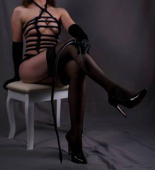 Bettie Page Bondage by Angel666JR
