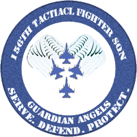156th Tactical Fighter Squadron Patch by DEathgod65