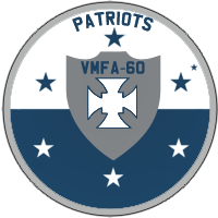 Marine Fighter Attack Squadron 60 'Patriots' Patch by DEathgod65