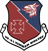 Fighter Squadron 21 'Timber Wolves' Patch by DEathgod65