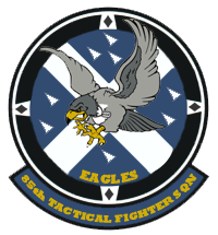 85th Tactical Fighter Squadron 'Eagles' Patch by DEathgod65