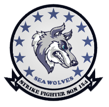 VFA-154 'Seawolves' by DEathgod65