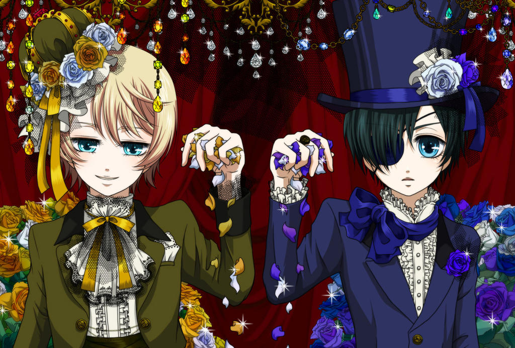 Ciel Phantomhive And Alois Trancy Wallpaper