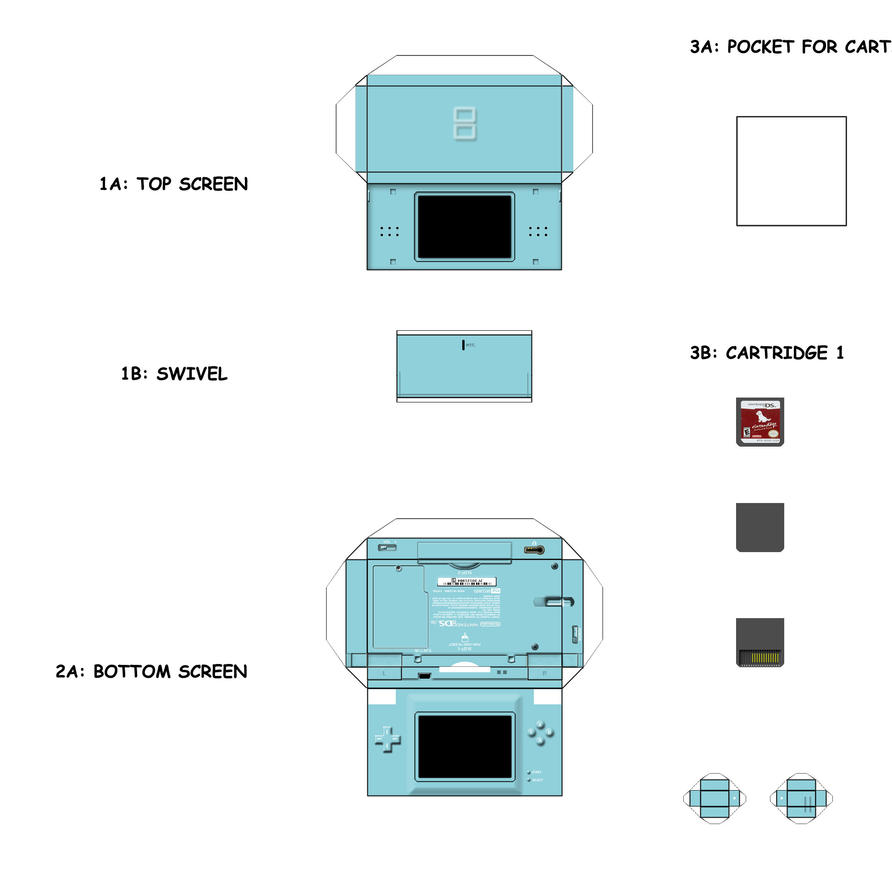 PaperCraft Templates by lewismpsmith on DeviantArt B1zh4vBS