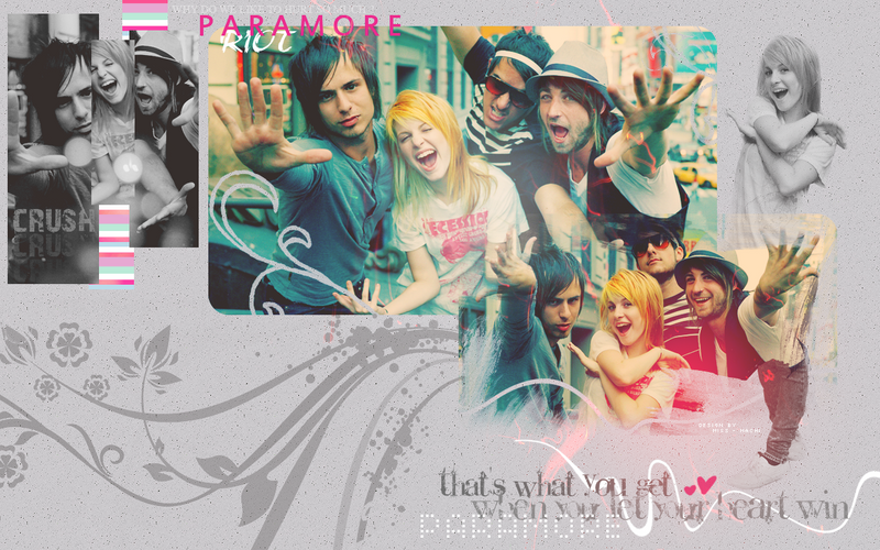paramore wallpapers. 2011 Paramore Wallpaper by