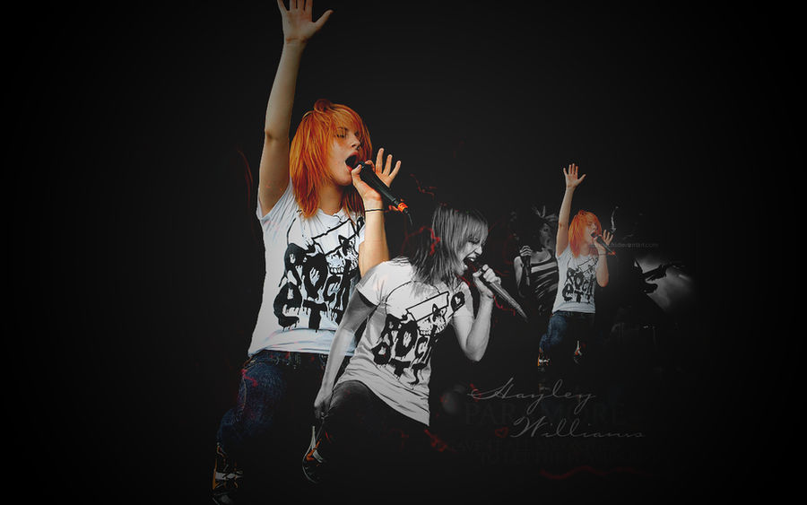 Paramore Wallpaper updated by Miss-Machi ...