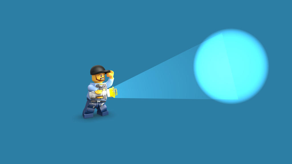 LEGO Batman Movie Security Guard 2 Heads Minifigure 70910 Mini Fig ...