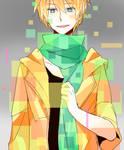 I like his scarf
