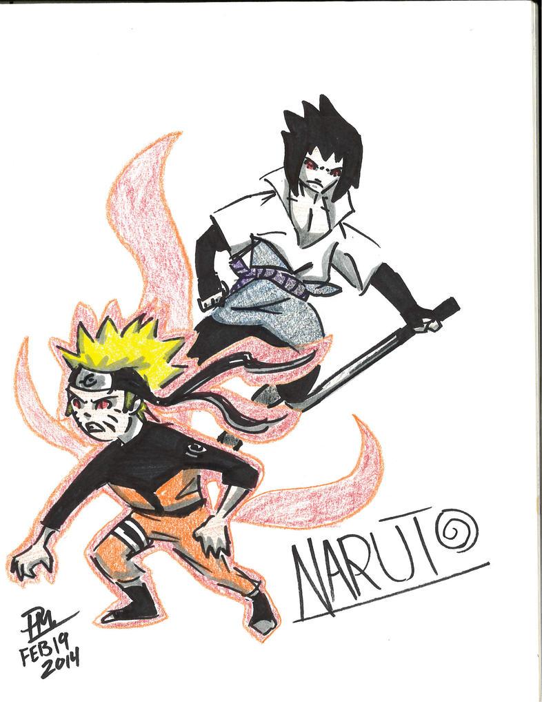 Naruto Shippuden by ClockoBot