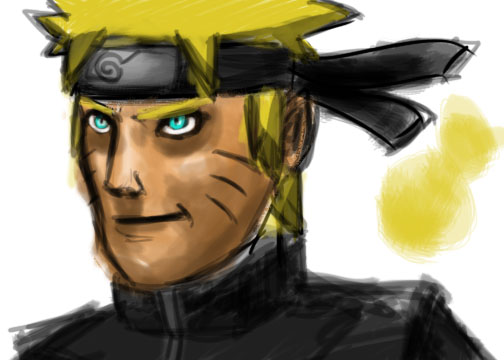 Naruto by ClockoBot