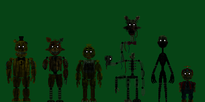 Phantom Animatronics - FNaF theorists