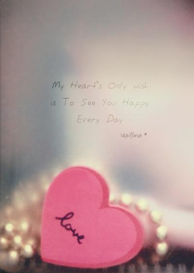 my heart's only wish by Haifona